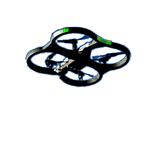 Open Sky AI Consulting Page Floater Drone