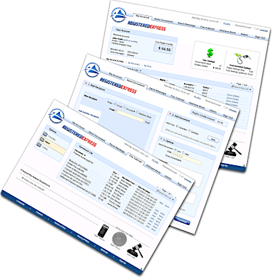 screenshots of web based document tracking software